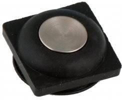 pryžový kryt tlačítka quadrix iLOG s upínacím kroužkem