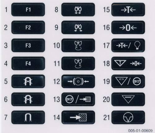štítky na vysílač eco a spectrum (magnety ...)