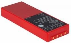 Baterie pro vysílač spectrum 2/3, NiMH 2 x 6V/4200mAh červená (nahrazuje FuB 10AA a 10XL)